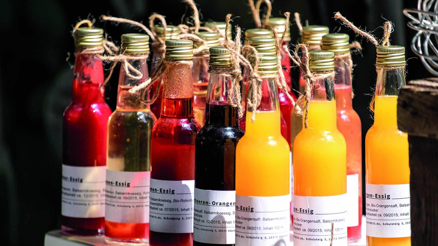Essigflaschen