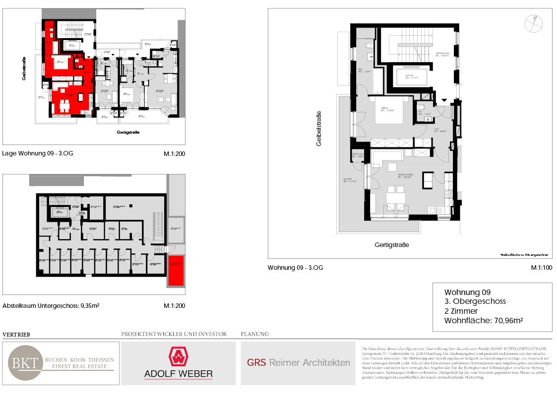 Grundriss Hanse Suites Wohnung 9