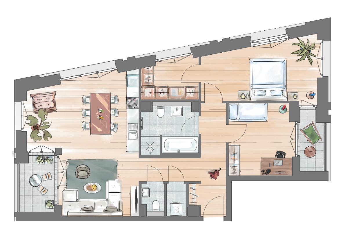 3-zimmer-penthouse-tower-wohnungstyp-4c