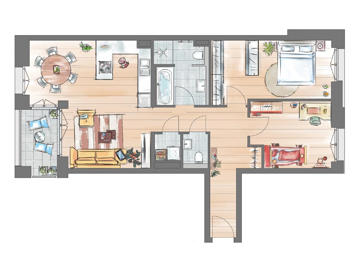 3-zimmer-penthouse-tower-wohnungstyp-8b